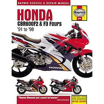 Honda CBR600F2 & F3 Fours Motorcycle Repair Manual - 91-98 by Anon - 9