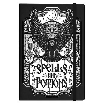 Grindstore Spells & Potions A5 Hard Cover Notebook