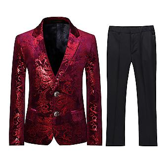 Allthemen Boy's Suit 2-Pieces Jacket & Pants