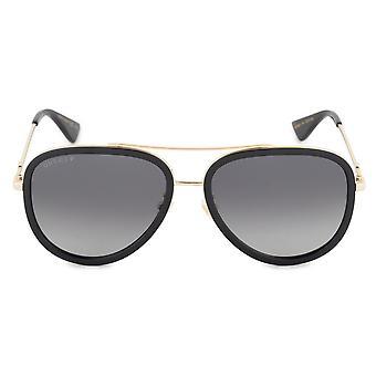 Gucci gepolariseerde Aviator zonnebril GG0062S 011 57
