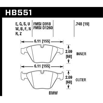 Hawk Performance HB551B.748 HPS 5.0