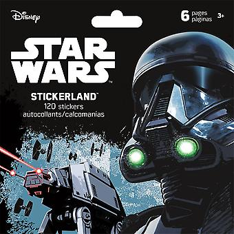 Mini Stickerland Pad - Star Wars - Saga - 6 pages Toys Stationery New st5182