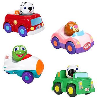 Bright Starts Characters vehicles Press And Zoom