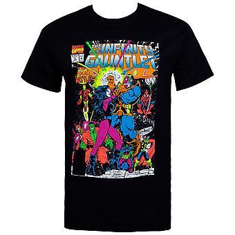 The Infinity Gauntlet Thanos Final Battle Comic Men's Camiseta