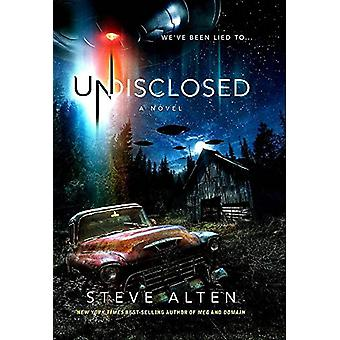 Undisclosed by Steve Alten - 9781943957057 Book