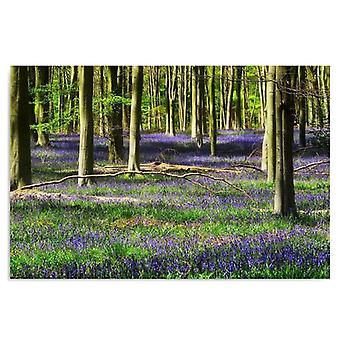Deco Panel, Blumen Wald