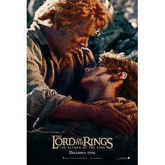 The Lord Of The Rings: The Return Of The King (Double Sided Advance - Frodo & Sam) Original Cinema Poster