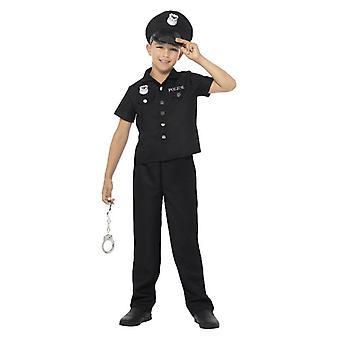 Garçons New York Cop Police Fancy Dress Costume