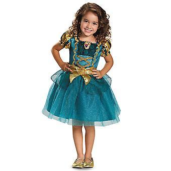 Merida klassische tapfere Prinzessin Disney Buch Woche kleinkind mädchen Kostüm