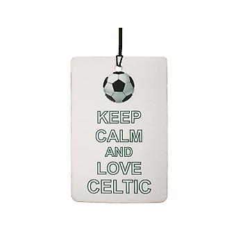 Keep Calm And Love Celtic Car Air Freshener