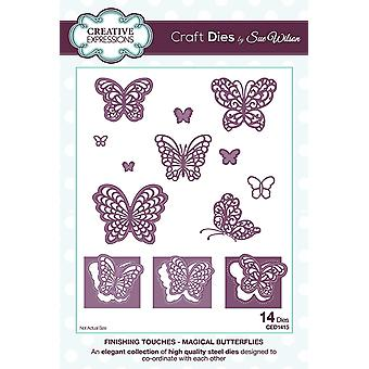 Creative Expressions Finishing Touches Collection Magical Butterflies Die