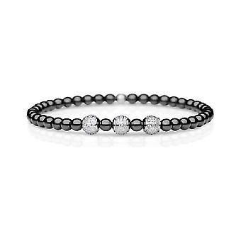 Bering - Armband - Damen - Arctic Glow - silber glänzend - 607-6117-180 - Gr. 180 mm