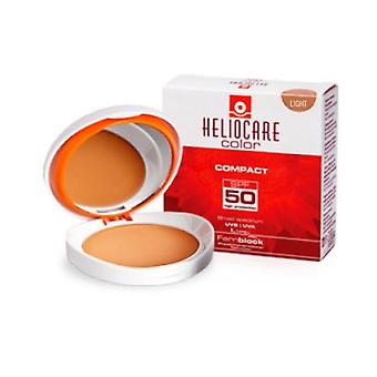 Heliocare Color Compact Oil Free Brown Spf 50 Normal To Fat Skins