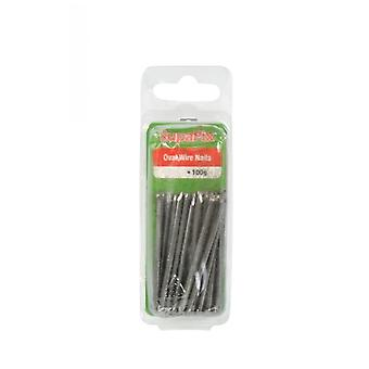SupaFix Oval Wire Nails (100g/3.5oz)