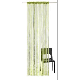 Heine home Fadenstore curtain room divider insect protection green H/W approx. 245/195 cm