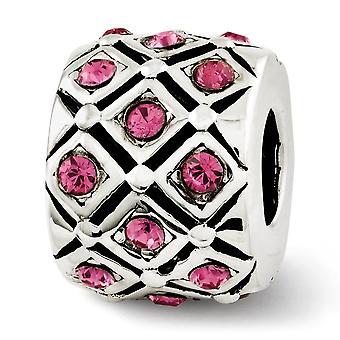 925 שטרלינג מלוטש כסף השתקפויות אוקטובר חרוז קריסטל תליון קסם שרשרת תכשיטים מתנות לנשים
