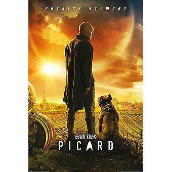 Star Trek: Picard-juliste Picard-numero yksi Patrick Stewart