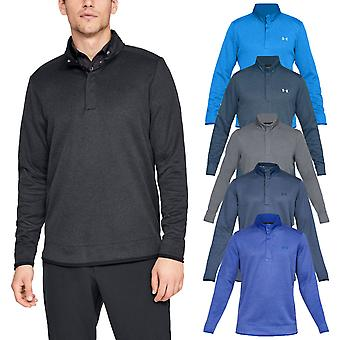 Under Armour Uomo UA Tempesta Heather Snap Mock