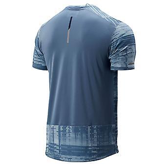 New Balance Mens Stampato NB Ice 2.0 Short Sleeve T-Shirt