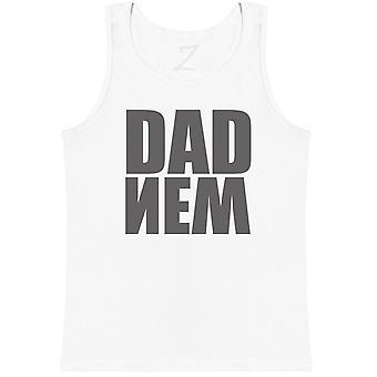 New Dad Upside Down - Dads Vest