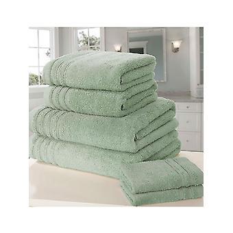 Zo zacht 6 stuk handdoek Bale Sea Green