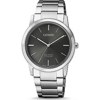 Часы наручные женские гражданин eco-drive Титан и супер FE7020-85 H