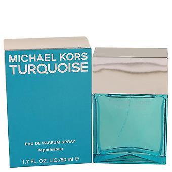 Michael kors turkis eau de parfum spray af michael kors 536605 50 ml