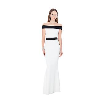 Goddiva Offshoulder Oscar Maxi Dress