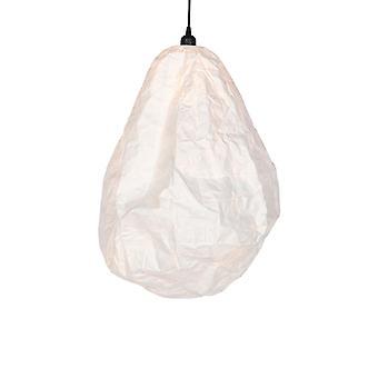QAZQA skandinavischepapierhänge Lampe weiß - Pepa Drop