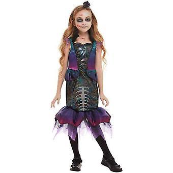 Dark Mermaid Costume Child Purple