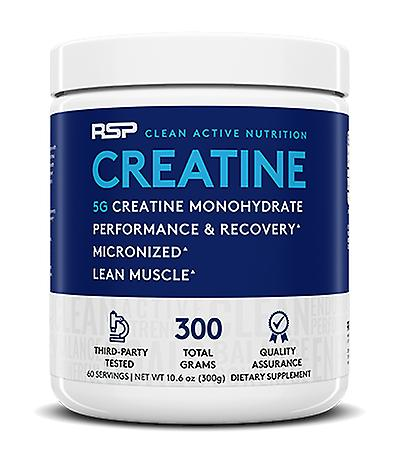 Rsp creatine monohydrate, strength, recovery, muscle gain, pure 100% micronized creatine