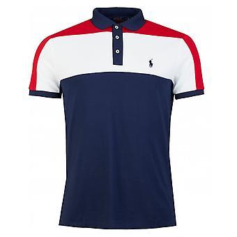 Polo Ralph Lauren Custom Slim Fit Colour Block Polo