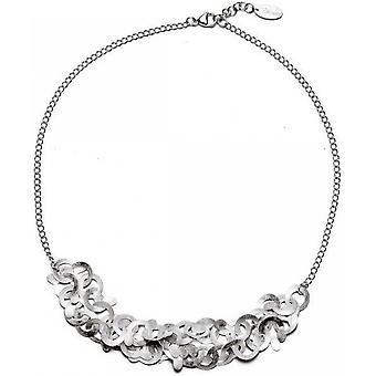 bastian inverun - 925/- Silver necklace, matted - 23840