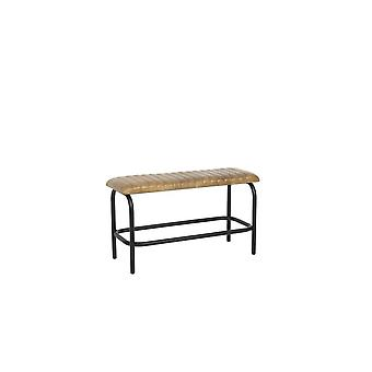 Light & Living Bench 88x34x49cm Mokas Antique Brown