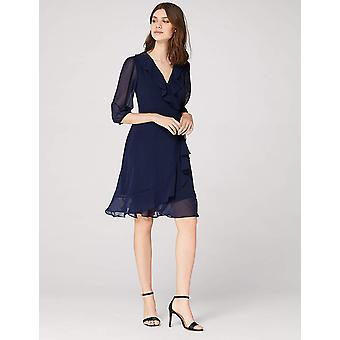 TRUTH & FABLE Women's Avery, Blue (Navy) S (US 4-6)