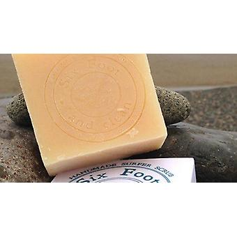 Six foot & clean sunset surf soap bar