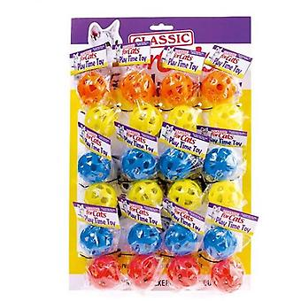 Classic For Pets Plastic balls Cascabel 2  (50 mm), Exhibitor 12U (P / U)