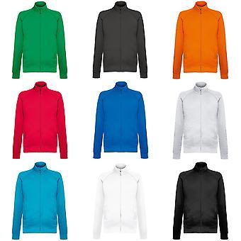 Fruit de la Loom Mens Lightweight Full Zip Sweatshirt Jacket
