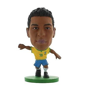 Soccerstarz Brazil Paulinho Home Kit