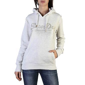 Superdry Original Women Fall/Winter Sweatshirt - Grey Color 37765