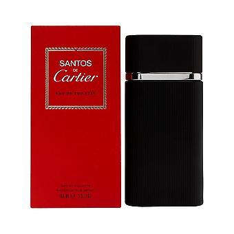 Cartier Santos de Cartier Eau de Toilette Spray 100ml
