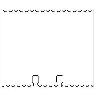 Pronty Memory rolodex Card white cartel 21 pcs 472.750.505
