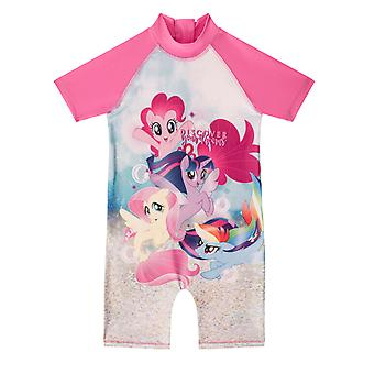 My Little Pony Pinkie Pie Official Gift Toddler Girls Kids Swim Surf Suit