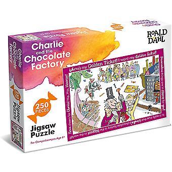 Paul Lamond R Dahl Charlie & Choc Factory 250 kus puzzle