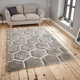 Rugs -Noble House - 30782 Grey/White