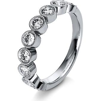 Diamond Ring Ring - 18K 750/- White Gold - 1.04 ct. - 1R795W853 - Ring width: 53