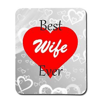 Legjobb feleség valaha egérpad