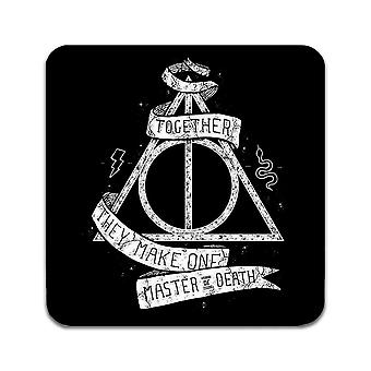 2 ST Harry Potter Master of Death Coasters