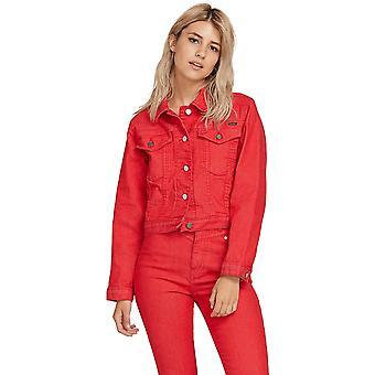 Volcom GMJ Shrunken Jacket in Red