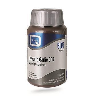Quest Vitamins Kyolic Garlic Extract 600mg Tabs 60 (601917)